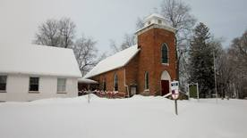 St. Michaels in the Snow